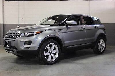 2013 Land Rover Evoque Pure Sport Utility 4-Door BEAUTIFUL 2013 RANGE ROVER EVOQUE PURE PREMIUM PACKAGE, LOADED WITH OPTIONS!!!