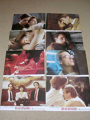DEAD RINGERS  – 1988 Jeremy Irons, Original Lobby Cards