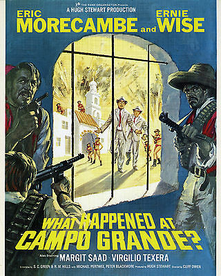 WHAT HAPPENED AT CAMPO GRANDE 1967 Morcambe & Wise