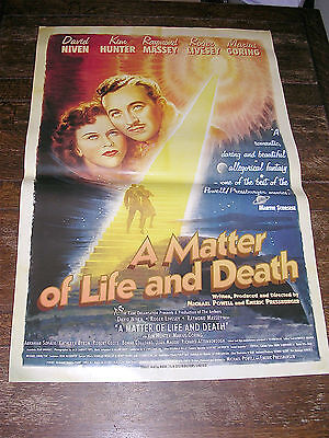 MATTER OF LIFE AND DEATH  - One Sheet Poster
