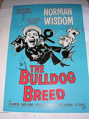 BULLDOG BREED - Norman Wisdom 1960 - One Sheet Poster