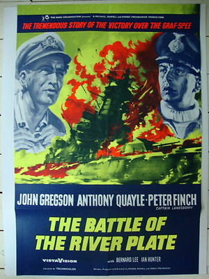 BATTLE OF THE RIVER PLATE -  1956 John Gregson