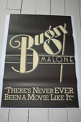 BUGSY MALONE (title) - 1976 Original One Sheet Poster