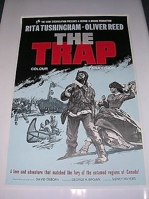 TRAP -  One sheet Poster 1966 Oliver Reed