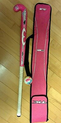 Mercian Composite Hockey stick 36.5 inches signed by Crista Cullen bag & ball