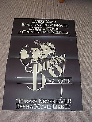 BUGSY MALONE - 1976 Original One Sheet Poster