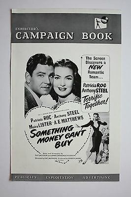 SOMETHING MONEY CAN'T BUY- 1952 Original Campaign Book.
