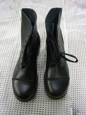 Ammo Boots Black Leather  Various Sizes Genuine British Army Issue New