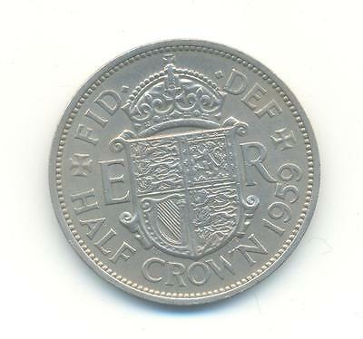Very Nice Rare.british.half Crown 1959.aunc.very Collectable.a.43