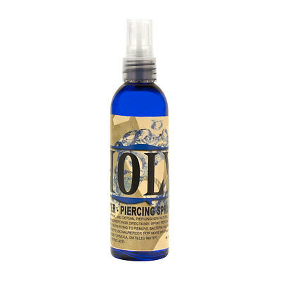 Inksanity Holy Water Piercing Aftercare Solution Saline Spray 4oz