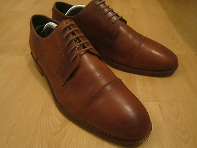 *jones* All Leather Oxford Shoes Size Uk 7