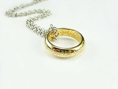 The Lord of the Rings ring golden gold replica 24K-plated case H745