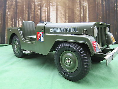 Vintage Action Man Jeep By Marx