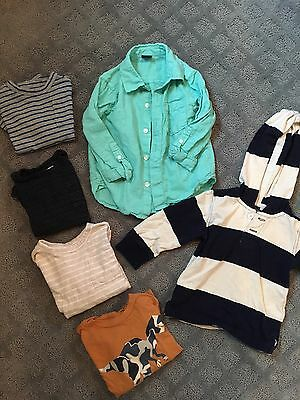 Baby Gap Toddler Size 2 Boy Shirts And Tops - Lot Of 6
