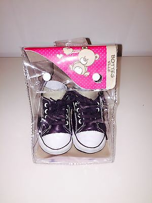 Chaussons style Converse - taille 17-18 -  0 à 6 mois - NEUF