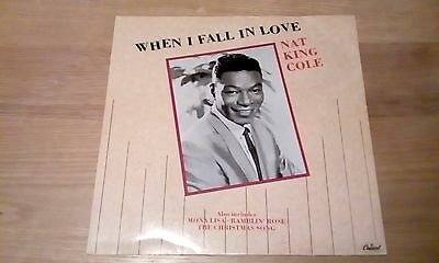 """Nat King Cole - When I Fall In Love - 12"""" vinyl single"""