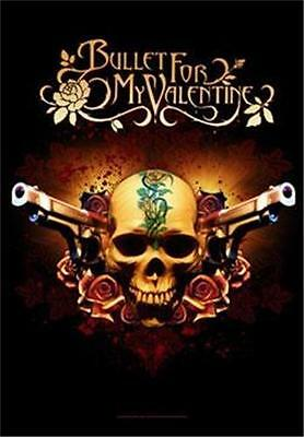 """BULLET FOR MY VALENTINE Rock flag/ Tapestry/ Fabric Poster   """"Pistols""""    NEW"""