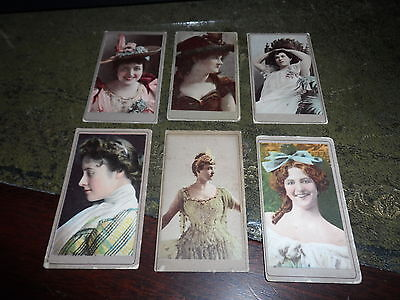 AMERICAN TOBACCO ~ BEAUTIES [6 cards]