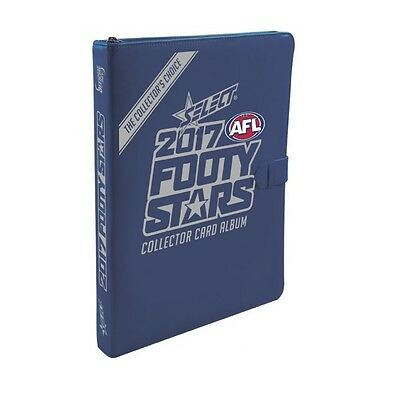 2017 AFL SELECT FOOTY STARS FOLDER ALBUM AND COMPLETE COMMON CARD SET 221 CARDSf