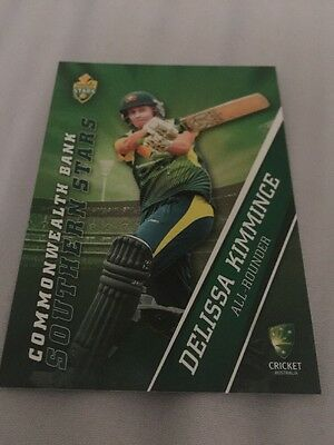 Delissa Kimmince Un-signed Southern Stars All-Rounder 2015 Cricket Card