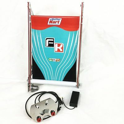 New! eShifter Kart Racing Products Electronic Radiator Curtain, Formula K 17X10