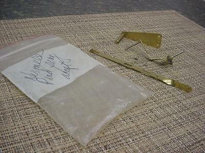 Vtg Hermle Anniversary Clock Replacement Pendulum & Adapter Parts D565c
