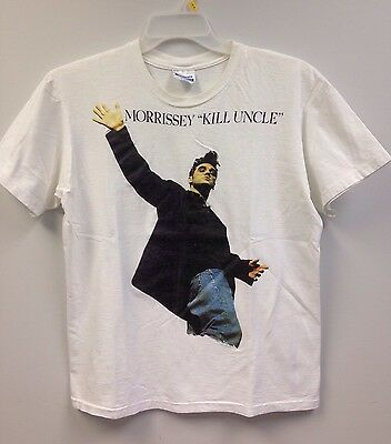 Morrissey 1991 Vintage Official Kill Uncle Tour Shirt Rare HTF The Smiths