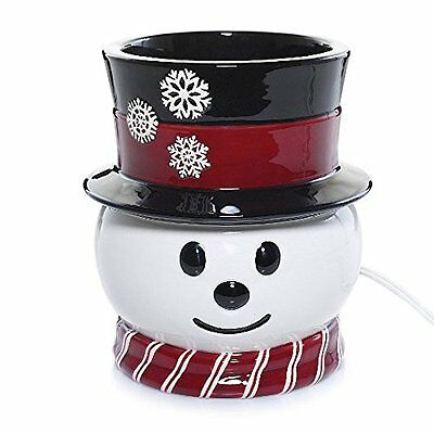 Yankee Candle Scenterpiece SNOWMAN  Electric Easy Meltcup Warmer NEW IN BOX