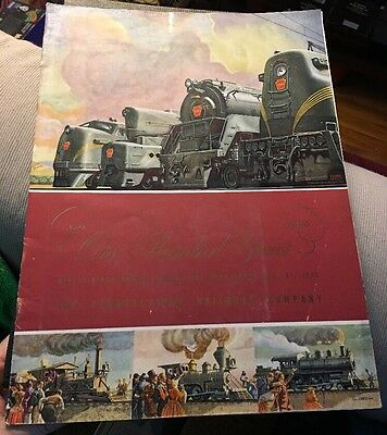 PRR Annual Report 1946 One Hundred Years Of The Pennsylvania Railroad Company