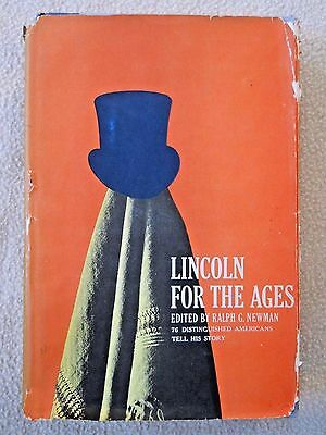 Vintage 1960 Lincoln For The Ages by Ralph Newman  /Presidential memorabilia