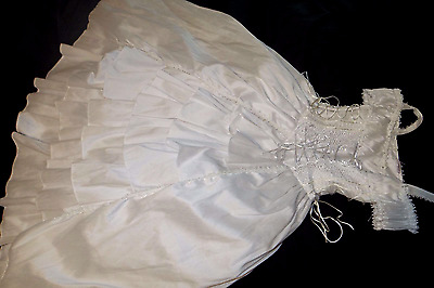 Flower Girl Angel Victorian Princess Dress Fancy Costume Pageant Party 10-12