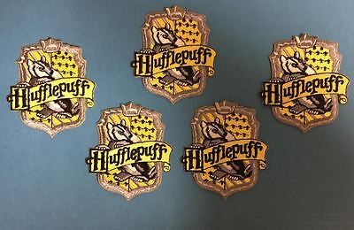 5 Lot Harry Potter Hufflepuff House Scarf Hat Jacket Hoodie Backpack Patches