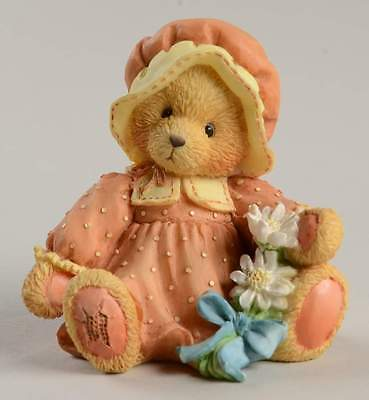 Enesco CHERISHED TEDDIES FIGURINE Prudence A Friend To Be Thankful For 1815472