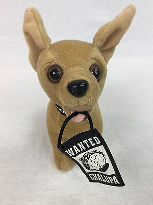 Talking Taco Bell Chihuahua Wanted Chalupa HTF Free Shipping WORKS
