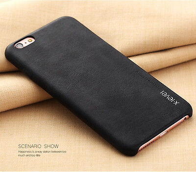 Luxury Ultra-thin PU Leather Back Skin Case Cover For Apple iPhone X & 6s/8 Plus