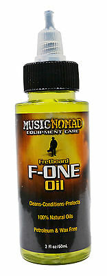 Music Nomad Ultimate Fretboard F-One Oil - Cleaner & Conditioner - New