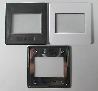 35mm 24 x 36 Gepe Slide Mounts 25 Count Box #6002 with Anti Newton Glass  NO BOX