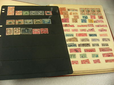 US, incl Revenues, Airs, 1500+ used Stamps in stock sheets(binder not included)