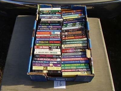 Lot of 52  Paperback books Mystery and more. B16