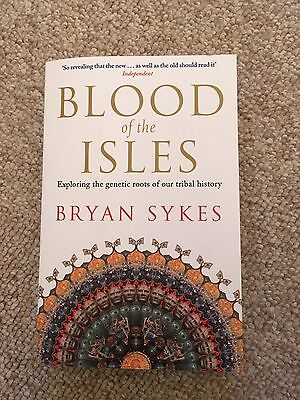 Blood of the Isles by Bryan Sykes Paperback Book (English)