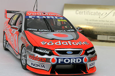 1:18 2008 Bathurst Winner Lowndes Whincup Triple 8 Vodafone Bf Falcon Classics
