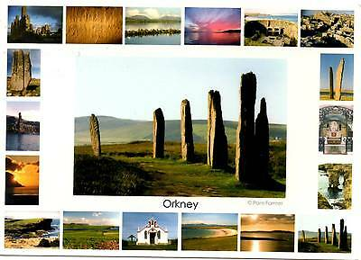 Ring of Brodgar - Orkney - Multiview - Scotland  - Postcard 2008