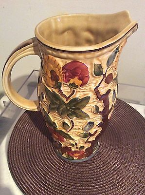 """arthur wood India tree vase 9"""" high excellent condition"""