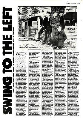 Snds6/7/85P35 The Men They Couldn't Hang Article & Pictures