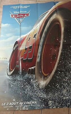 Cars 3 Disney flash  Affiche Poster cinema Neuve 120x160cm
