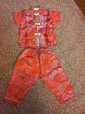 Traditional Chinese outfit for 3 yr old