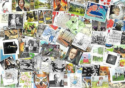 200 all different commemorative stamps