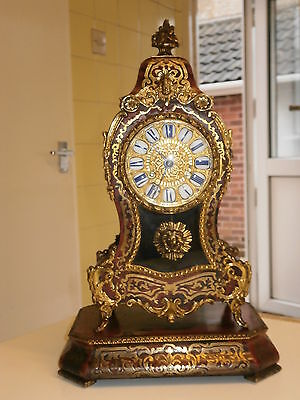 Superb Miniature Boulle Clock on Stand Movement Serviced Cleaned & Polished