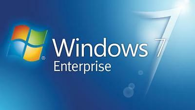 windows 7 Enterprise 32 64 bit licenza originale SCONTATA
