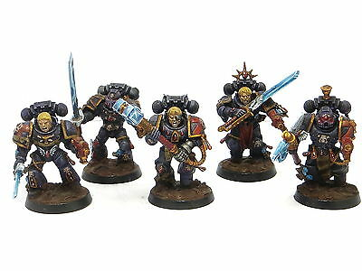 DEATH COMPANY SQUAD  -  Painted, Warhammer 40K Blood Angels Space Marine Army